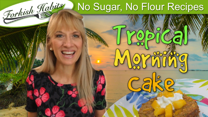 Tropical Island Morning Cake