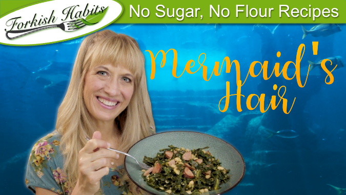 Mermaid's Hair (aka southern collard greens)