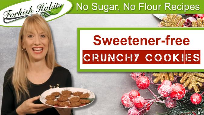 Sweetener-free Crunchy Cookies